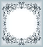 Abstract Floral Frame Background Royalty Free Stock Photo