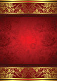 Abstract Floral Frame Background Royalty Free Stock Image