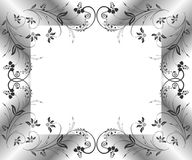 Abstract floral frame Royalty Free Stock Photos
