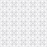 Abstract floral geometric pattern. Seamless pattern. Royalty Free Stock Photos