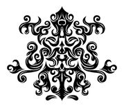 Abstract floral graphics. An abstract tribal graphic ornament Stock Images