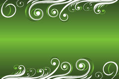 Abstract floral green background Stock Photo