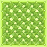 Abstract floral green vector pattern Stock Image