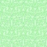 Abstract floral green seamless background Royalty Free Stock Photo