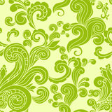 Abstract floral green seamless pattern Royalty Free Stock Photography