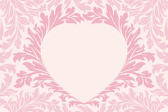 Abstract Floral Heart Royalty Free Stock Photos
