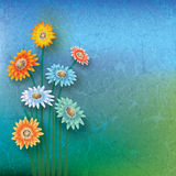 Abstract floral illustration Stock Photos