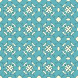 Abstract floral lattice. On a white background in seamless pattern Royalty Free Stock Photos