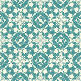 Abstract floral lattice. On a white background in seamless pattern Royalty Free Stock Photo