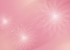 Abstract Floral Light Pink Background for Design Royalty Free Stock Photo