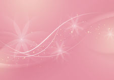 Abstract Floral Light Pink Background for Design Stock Image