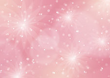 Abstract Floral Light Pink Background Royalty Free Stock Photography