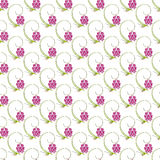 Abstract floral nature seamless pattern design Stock Photography