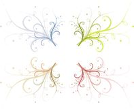 Abstract floral ornament Royalty Free Stock Photo