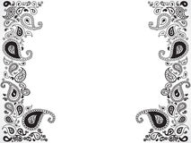 Abstract floral ornament design. Vector illustration Royalty Free Stock Photography