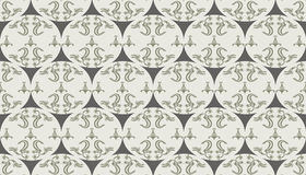 Abstract Floral ornament pattern Stock Images