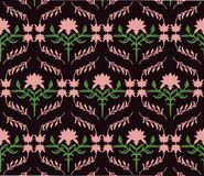 Abstract Floral ornament pattern Stock Photo