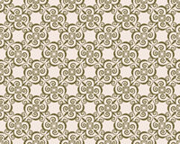 Abstract floral ornament pattern Stock Photography