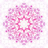 Abstract  floral ornamental background. Ornament in east style.Vector illustration Stock Photography
