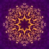 Abstract  floral ornamental background. Vector illustration Stock Photo