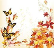 Abstract floral pastel background Royalty Free Stock Photography