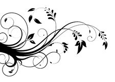Abstract floral pattern 2 Royalty Free Stock Photography