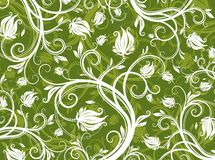 Abstract floral pattern Stock Images