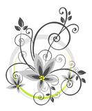 Abstract floral pattern Stock Photo