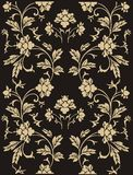 Abstract floral pattern royalty free illustration