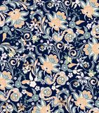 Abstract Floral Pattern Stock Photography