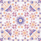 Floral tracery Stock Photos