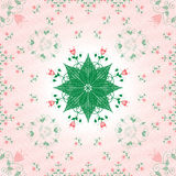 Floral tracery Royalty Free Stock Photography