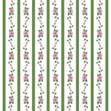 Abstract floral pattern of ribbons. Design elements stock illustration