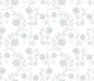 Abstract Floral Pattern SEAMLESS Stock Image