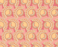 Abstract floral pattern seamless. Royalty Free Stock Photography