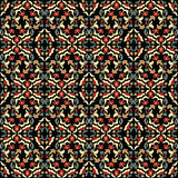 Abstract floral pattern. Seamless abstract floral color pattern Stock Photography