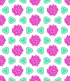 Abstract floral pattern Royalty Free Stock Photos