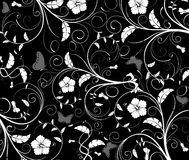 Abstract floral pattern, vecto Royalty Free Stock Images