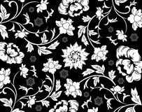 Abstract floral pattern, vecto Royalty Free Stock Photography
