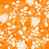 Abstract floral pattern, vecto Stock Photo