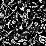Abstract floral pattern, vector Stock Photos
