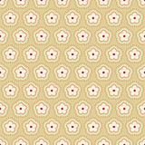 Abstract floral pattern. Vector. Royalty Free Stock Image