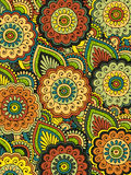 Abstract floral pattern.Vector Royalty Free Stock Photo