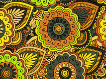 Abstract floral pattern.Vector Royalty Free Stock Photography