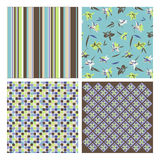 Abstract and floral patterns Royalty Free Stock Photography