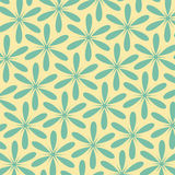 Abstract floral retro pattern.Vintage style color.Can be used for card design, pattern fills, web page background, surface texture Stock Photography