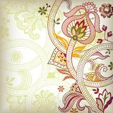Abstract Floral Scroll Royalty Free Stock Photo