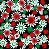 Abstract floral seamless background with daisies on a black back. Abstract floral seamless background with a daisies on a black background vector illustration