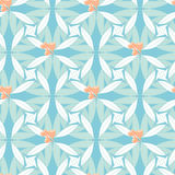 Abstract floral seamless background in pastel hues. Abstract floral seamless background of stylized eucalyptus leaves and seeds in pastel hues. Australian native Royalty Free Stock Image