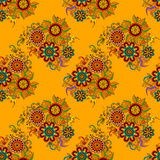 Abstract Floral Seamless Background Royalty Free Stock Photography